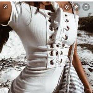 Sabo Skirt Monroe Dress White